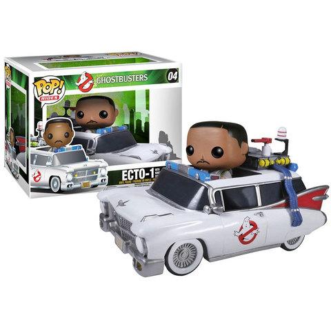 Фигурка Funko POP! Rides: Ghostbusters: ECTO-1 & Zeddemore 3982