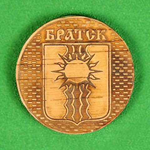Магнит Братск герб