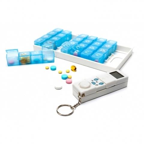 <p>Таблетница Неделька с таймером предназначена для хранения таблет...