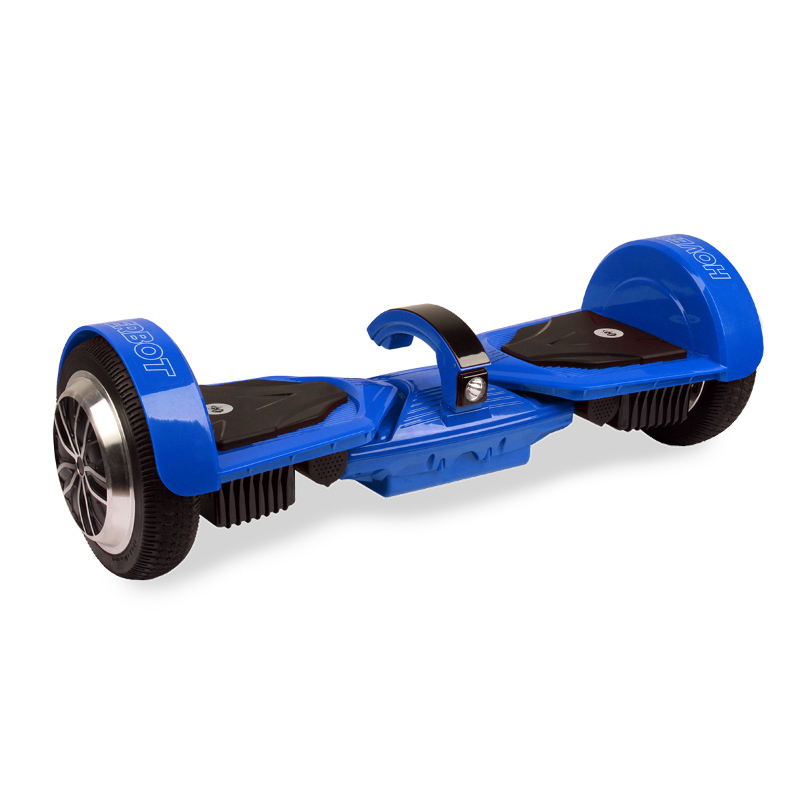 Hoverbot A16 синий (приложение + усиленная рама + экран + фара + съемная АКБ + Bluetooth-музыка + сумка) - 6,5 дюймов, артикул: 744313