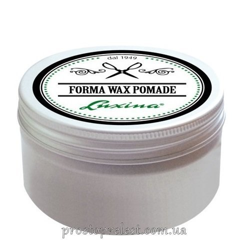 Luxina Forma Wax Pomade - Помада для волос на водной основе