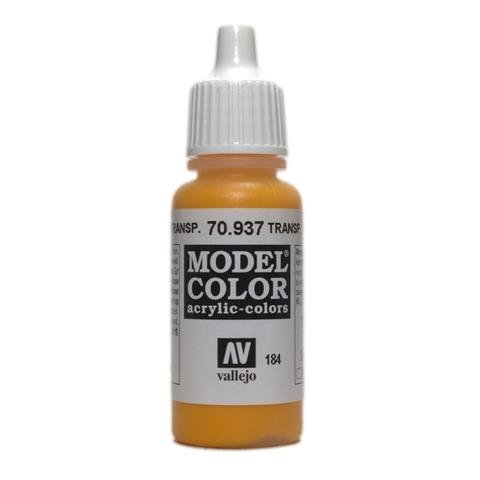 Model Color Transparent Yellow 17 ml.