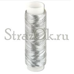 Купите нитки для пришивания страз серебро в интернет-магазине оптом