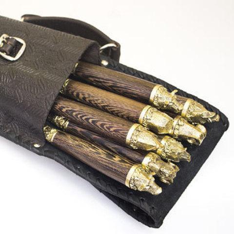 Шашлычный набор «Охота № 2» на 8 шампуров