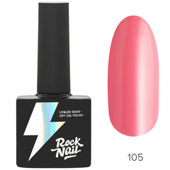 Гель-лак RockNail Basic 105 Innocent Blush, 10мл.