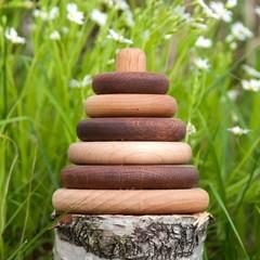 Пирамидка круглая, дуб-клен от Леснушки