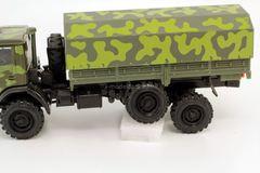 KAMAZ-4310 with awning camouflage AREK-Elecon 1:43 used