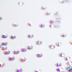 2088 Стразы Сваровски холодной фиксации Crystal AB ss 12 (3,0-3,2 мм), 10 штук