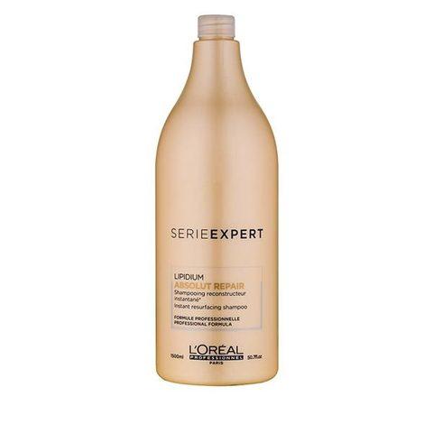 Шампунь для очень поврежденных волос, Loreal Absolut Repair Lipidium, 1500 мл.