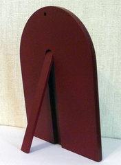 Серебряная икона святителя Николая Чудотворца (Угодника) 11х9см