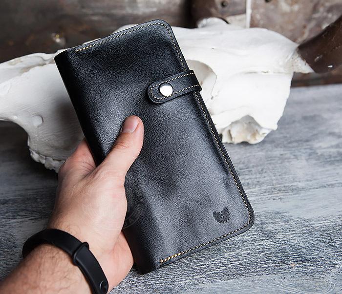 WB111-6 Портмоне ручной работы из натуральной кожи. «Boroda Design» фото 09