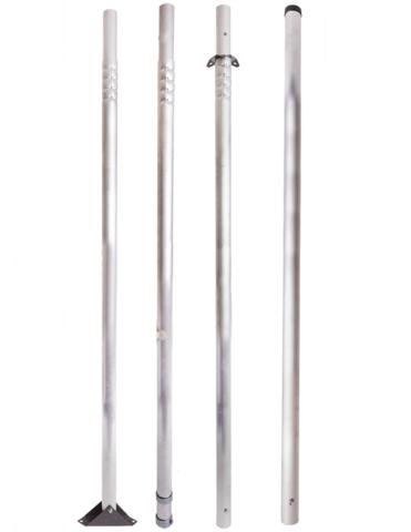 Мачта для антенн 6 метров алюминиевая составная