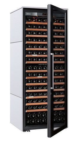 Винный шкаф EuroCave V Collection L белый хлопок, максимальная комплектация