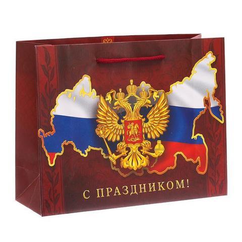Пакет «Во славу Отечества!» 23×27×8см