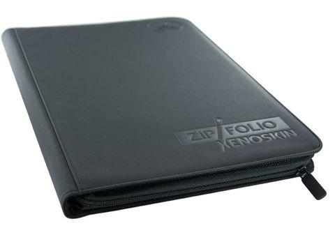 Ultimate Guard - Черный гибкий альбом XenoSkin на молнии на 360 карт (3х3)