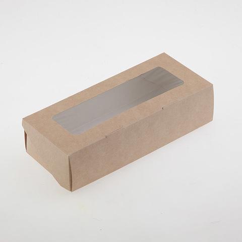 Коробка для мыла длинная с окошком