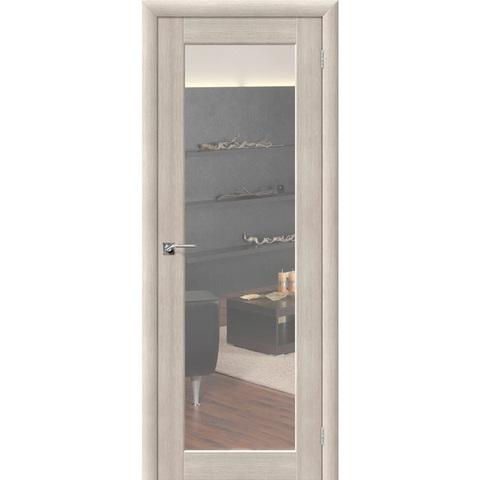 Аква Дверь 7 Cappuccino Veralinga с зеркалом с одной стороны