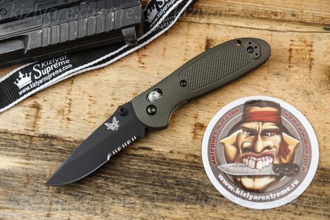 Складной нож Mini Griptilian Olive Drab 556SBKOD D2