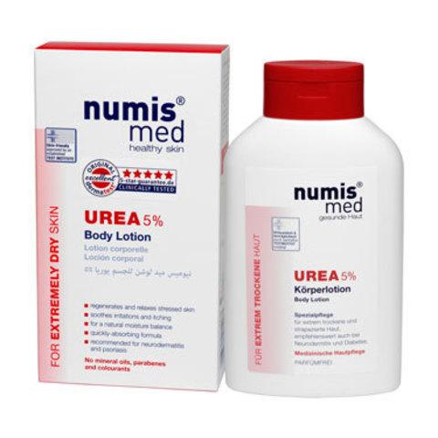 Сливки для тела с 5 % мочевиной Numis Med, 300 мл