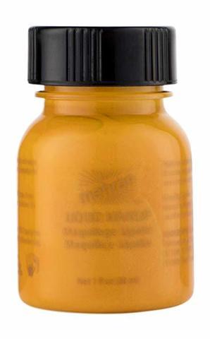 MEHRON Жидкий грим Liquid Makeup, Orange (Оранжевый), 30 мл