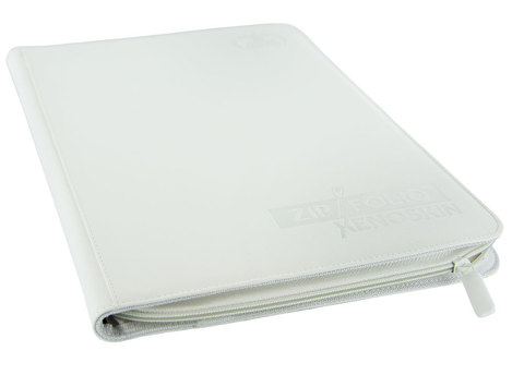 Ultimate Guard - Белый гибкий альбом XenoSkin на молнии на 360 карт (3х3)