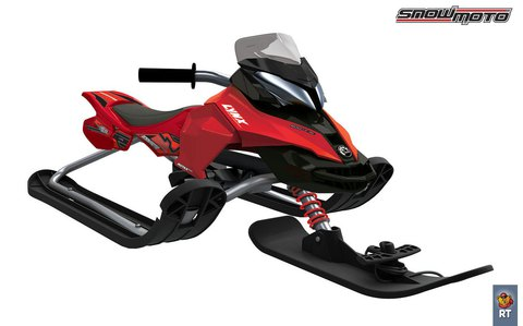 Снегокат Snow Moto X Games MXZ-X (красный)