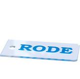 Скребок лыжный пластиковый Rode AR66 140*65*4 мм
