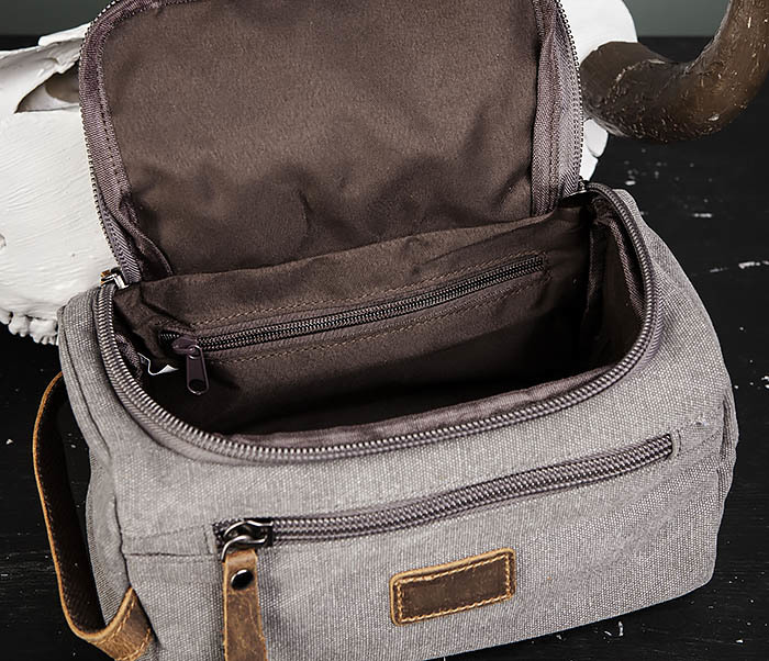 BAG480-3 Дорожный мужской несессер из текстиля фото 04