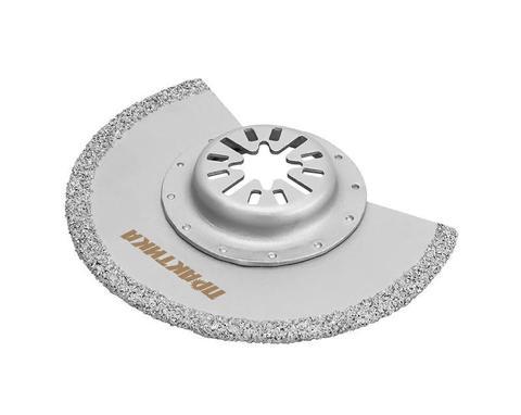 Насадка для МФИ ПРАКТИКА режущая полукруг, HM, по плитке, 88 мм (240-294)