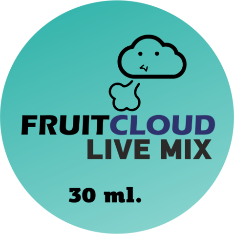 Премиум жидкость для электронных сигарет Live Mix, 1 мг