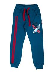 BK468P-3 спортивные брюки детские, зеленые