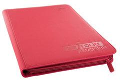 Ultimate Guard - Красный гибкий альбом XenoSkin на молнии на 360 карт (3х3)