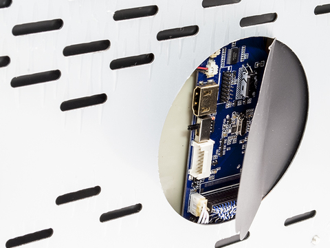 Потолочный монитор AVIS Electronics AVS1250T (бежевый)