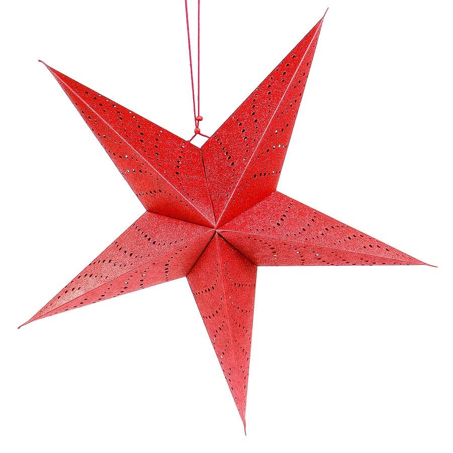 Гирлянды LED-светильник подвесной Star 60 см., красный EnjoyMe 6550da78197057e2304f46f1b775ffae.jpeg