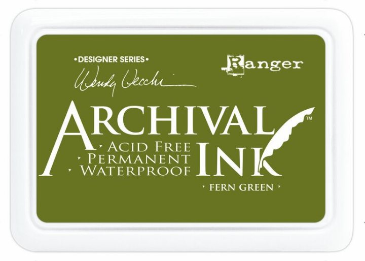 Архивные чернила Ranger Archival Ink Pads  FERN GREEN