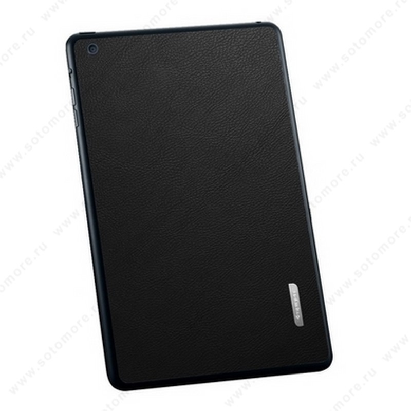Наклейка SGP для iPad mini 3/ 2/ 1 - SGP Skin Guard Leather Black SGP10068