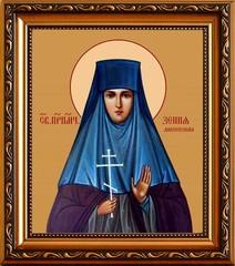 Ксения (Черлина-Браиловская), монахиня, преподобномученица. Икона на холсте.