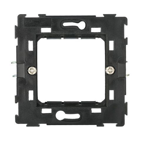 Суппорт с лапками для рамки 45х45 мм, на один пост (для 45х45 или 2х22,5х45). LK Studio LK45 (ЛК Студио ЛК45). 854008