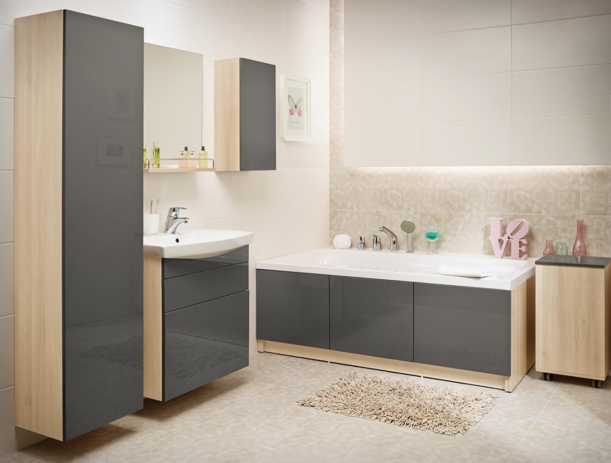 Акриловая ванна SMART 170 правая