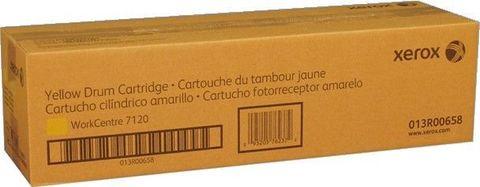 Барабан желтый XEROX 013R00658 для WC 7120/7125/7220/7225. Ресурс 51000 страниц