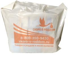 Полиэтиленовый пакет-чехол для прозрачной сумки