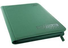 Ultimate Guard - Зеленый гибкий альбом XenoSkin на молнии на 360 карт (3х3)