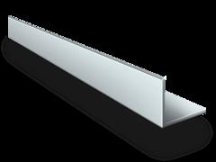 Алюминиевый уголок 80х40х3,0 (3 метра)