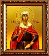 Анисия Солунская  мученица. Икона на холсте.