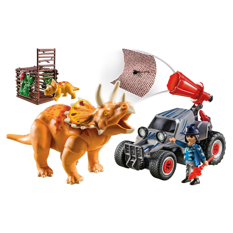 Конструктор Playmobil Динозавры Квадроцикл 9434pm