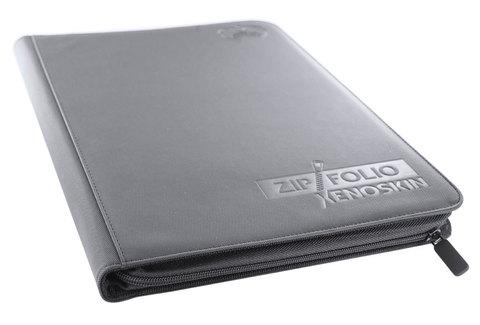 Ultimate Guard - Серый гибкий альбом XenoSkin на молнии на 360 карт (3х3)