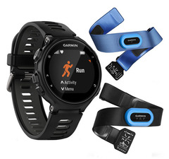 Спортивные часы Garmin Forerunner 735XT 010-01614-09 Черно-серые (HRM-Tri-Swim)