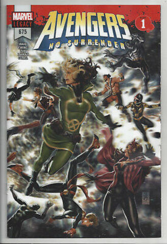 Avengers No Surrender #1 Lenticular Cover