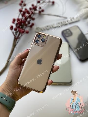 Чехол iPhone 11 Pro Max Baseus Shining Case /gold/