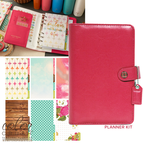 Планнер PERSONAL PLANNER KIT : Dark Pink  by Websters Pages